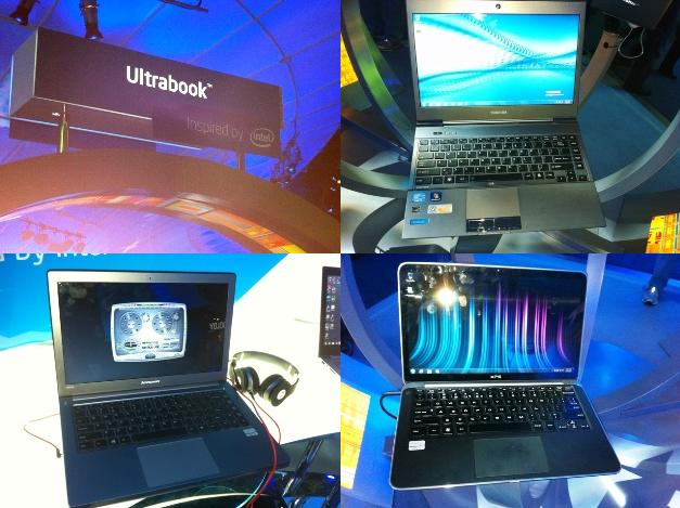 Ultrabooks At CES
