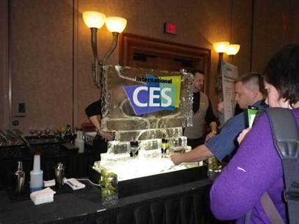 1) What Better Way To Toast The Launch Of The Tech Event Of The Year Than By Casting Its Logo In Ice