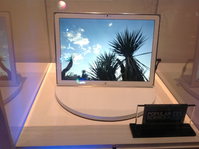 Panasonic 's 20-inch 4K Tablet Has Been Widely Regarded Among The Gadgets Of CES 2013