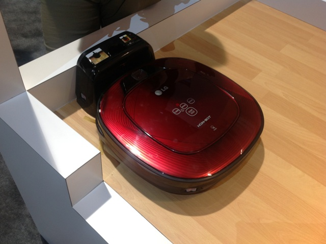 LG's HOM BOT Can Do The Vaccuming While You 're At Work