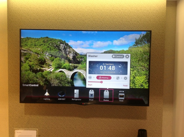 LG'S Smart Home Appliances Can Be Controlled With A Smartphone Or Remote Using A Hub On Your TV