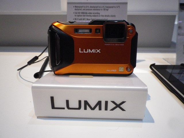 3) Panasonic Lumic DMC TS5