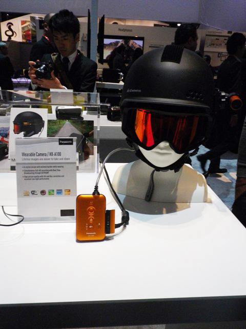 Panasonic Wearable Camera