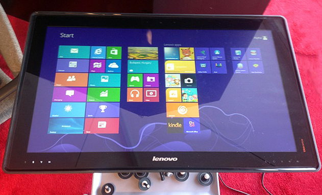 12) Lenovo 's New 27inch Tabletop Tablet , The Horizon