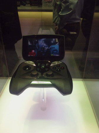 3) The Nvidia Project Sheild Handheld Andriod Games Console Can Connect To The Cloud While You 're Out And About