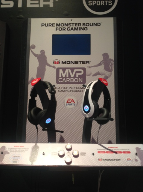 5) Monster Unveiled Its New Carbon MVP Headphones , A Collaboration With EA Sports Designed With Gamers In Mind