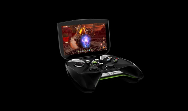 The Nvidia Shield in all its glory.