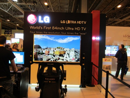2) We First Saw LG's 84inch Ultra HDTV At CES, But The Picture Seems Even More Impressive From Gadget Show Live