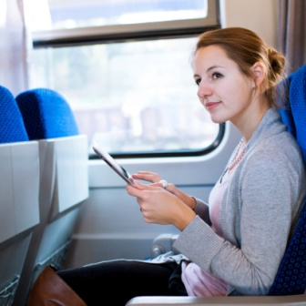 Tablet On Train