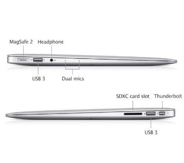Mac Book Air Side View
