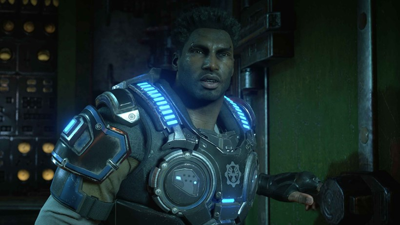A character from Gears of War 4