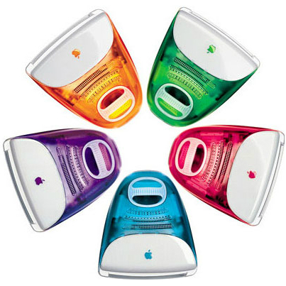 iMac 3G in all colours