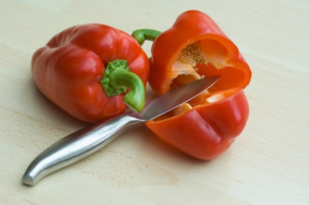 Sliced Peppers