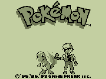 Pokemon Red Intro Screen