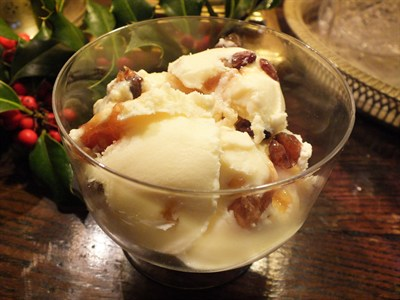 Advocaat and Mincemeat Ice-cream
