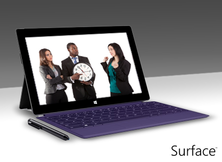 Avoid annoying colleagues that... arrive late for meetings! #SurfacePro2