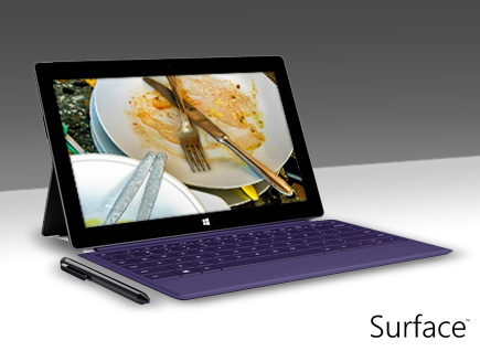 Avoid annoying colleagues that... leave dirty bowls and plates on their desk after lunch! #SurfacePro2