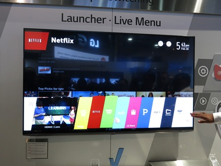 LG's New Web OS Smart TV Platform