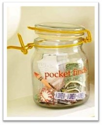 Pocket Finds Jar