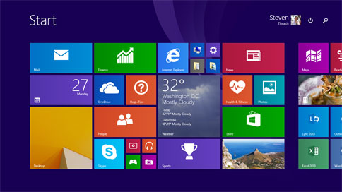 Windows 81 update everything you need to know techtalk although windows 81 shows some love to desktop users it hasnt abandoned its tablet roots sciox Image collections