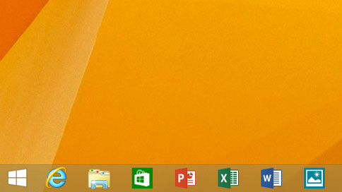 Windows 8 Taskbar