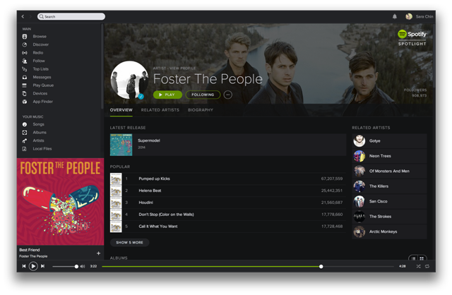 Spotify Your Music