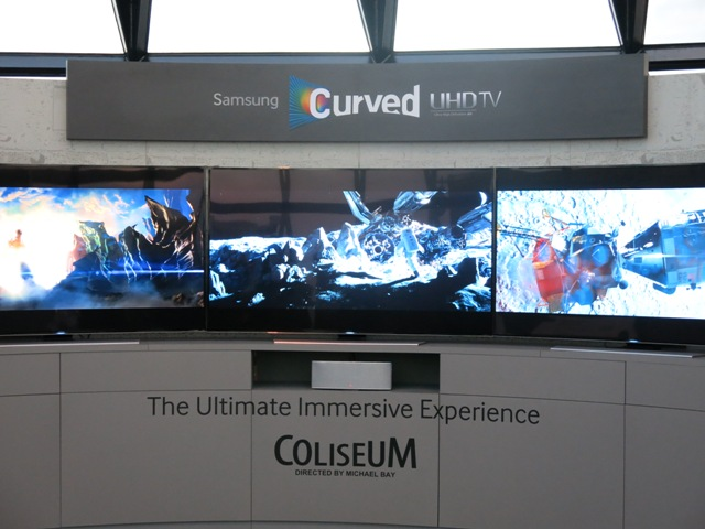 Samsung Curved UHD Coliseum