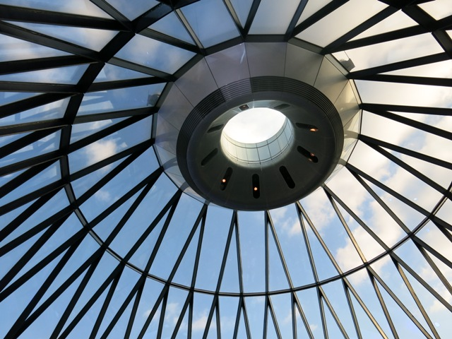 Gherkin Curved Roof
