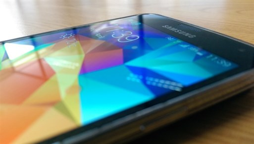 Samsung Galaxy S5 Screen Small