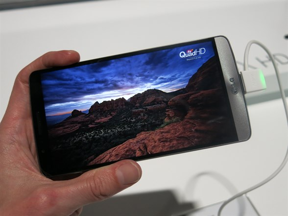 Another Shot Of The 5.5inch Quad HD Screen