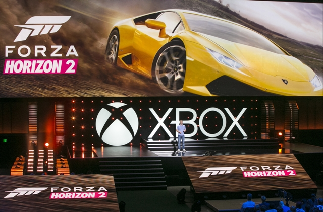 Forza Horizon 2 Was One Of The Exclusive Titles Shown Off During The Xbox Press Show