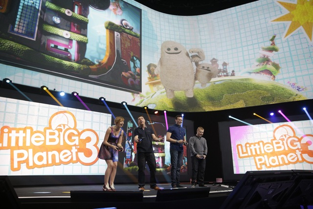 Little Big Planet 3 For PS4 Is Shown Off During Sony 's Press Show At E3