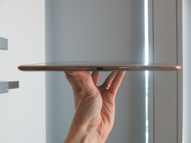 The Tab S Is Just 6.6mm Thin - Perfect For Your Commute