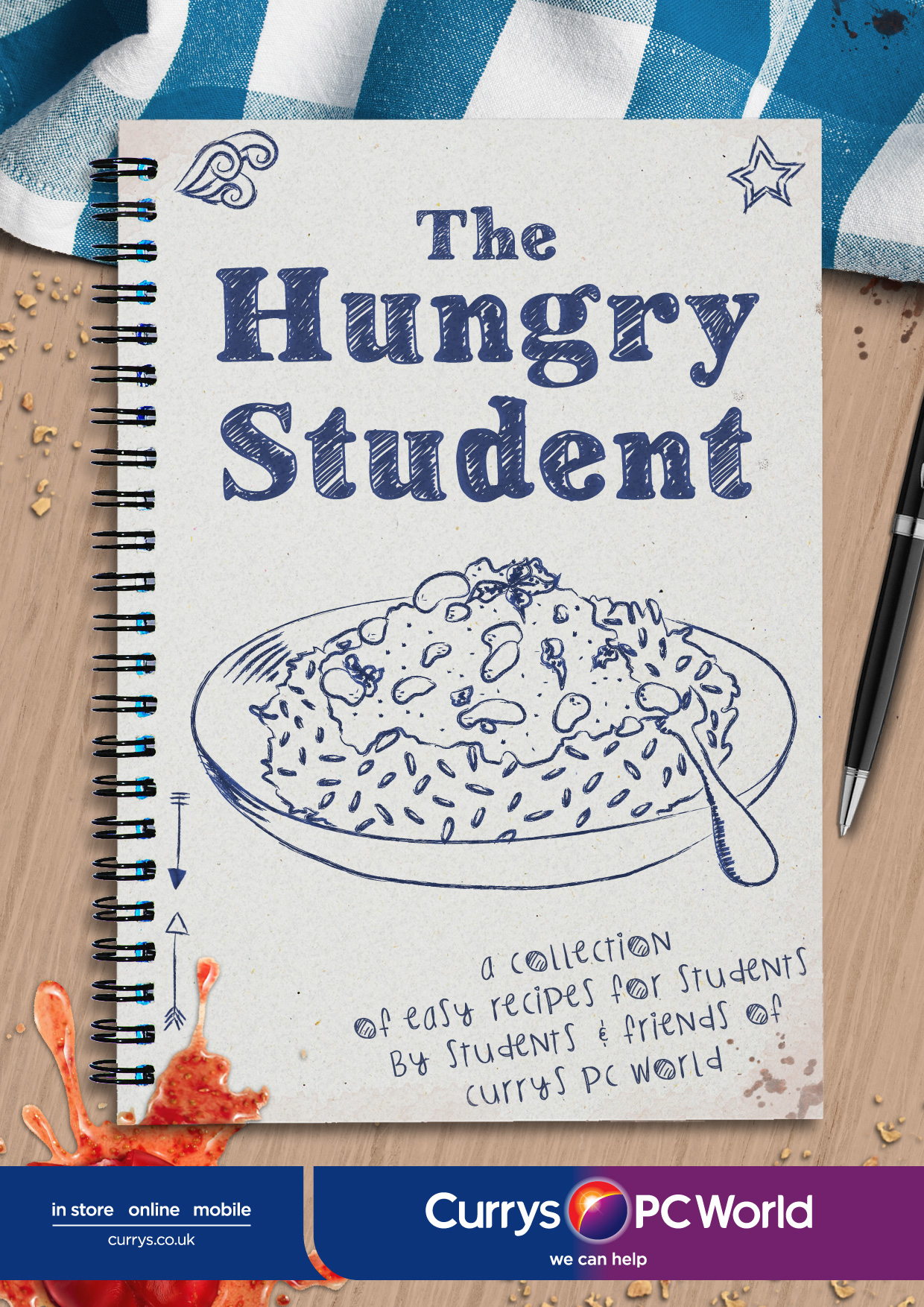 u00b4the hungry student u00b4 cookbook