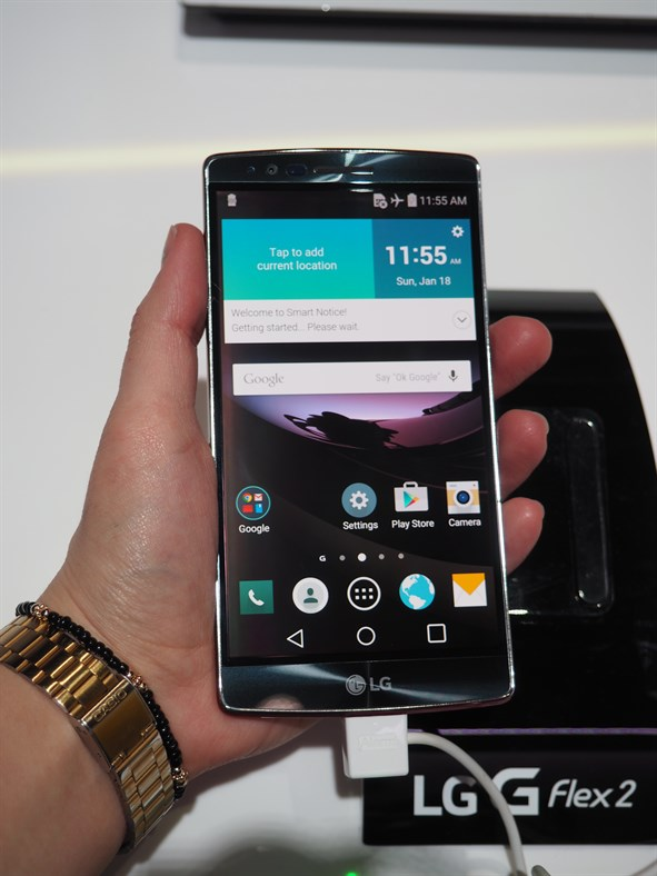 LG G Flex 2 Screen