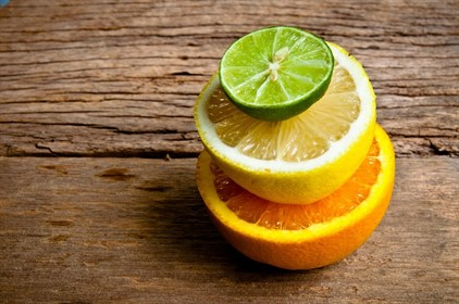 Spruce up your sink with citrus fruit
