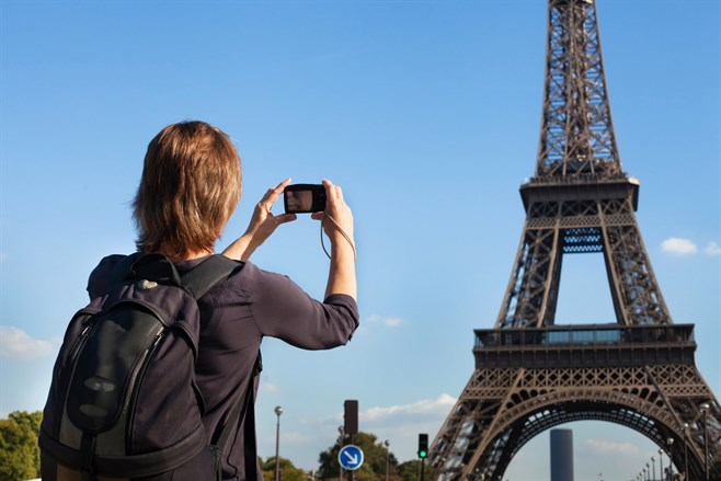 Compact Camera Eifel Tower