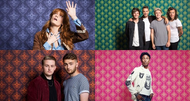 Apple Festival headliners 2015 - Florence + The Machine, One Direction, Disclosure and Pharrel