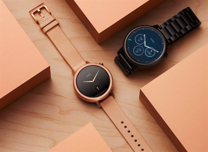 New 2nd gen Moto 360 smartwatch