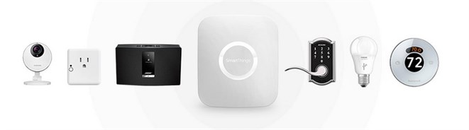 Other branded devices SmartThings hub and app.