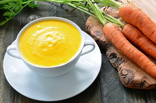 carrot and coriander soup blender recipe
