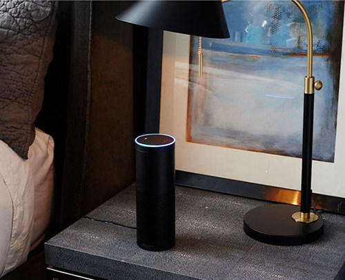 Amazon Echo at home