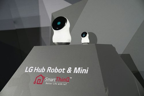 LG hub Robot and mini