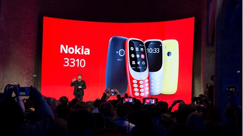 A love letter to the Nokia 3310 – the phone that defined the