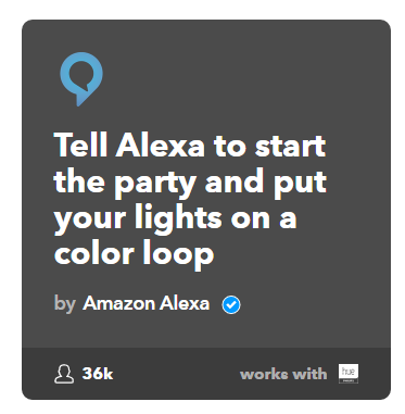 Alexa and Philips Hue