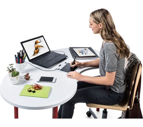 Intuos graphics tablet