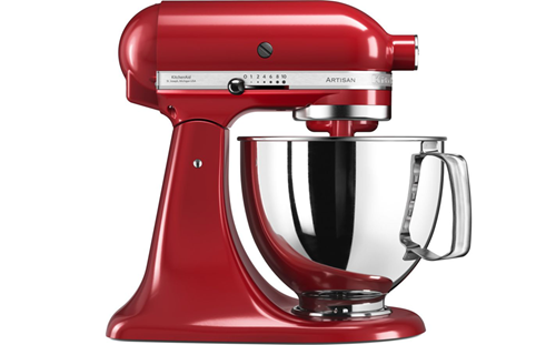 kitchenaid artisan empire red