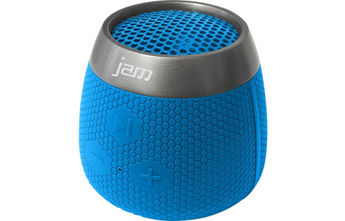 jam replay portable bluetooth wireless speaker blue