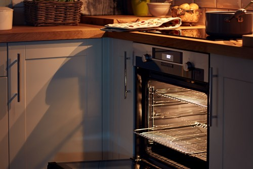 Autoclean oven