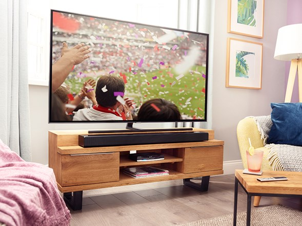 Boost Tv speakers with a sound bar